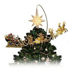 Pittsburgh Steelers Lighted Christmas Tree Topper