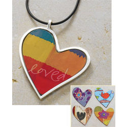 Interchangeable Heart Magnet Pendant