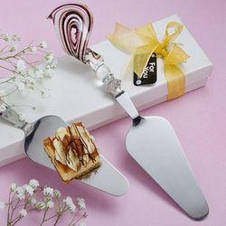 Murano Glass Mini Pastry Server