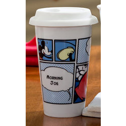 Personalized Mickey Mouse Travel Tumbler