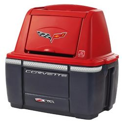 Kid's Red Corvette Stoarge Chest