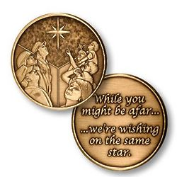 Soldiers Afar Holiday Keepsake Coin