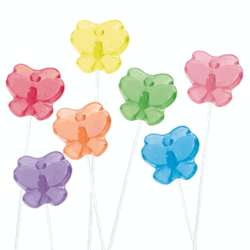 Butterfly Twinkle Lollipops