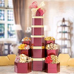 Deluxe Sweet and Savory Gift Tower