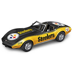 Pittsburgh Steelers Super Bowl X Car Sculpture