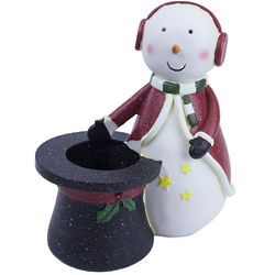 Snowman Wine Bottle Holder