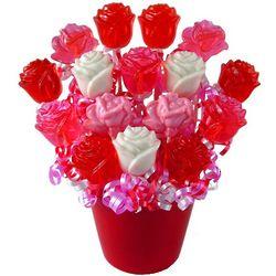 Sweetest Roses Ever Lollipop Bouquet