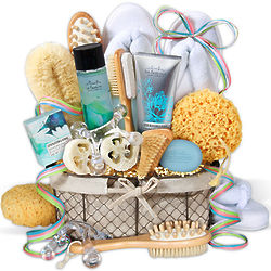Mandarin Spa Sensation Gift Basket