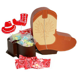 Cowboy Boot Candy Gift Box