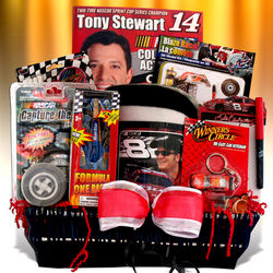 Kid's NASCAR Toys and Activities Gift Basket