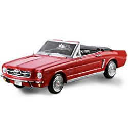 1964 Ford Mustang Convertible 1:12 Scale Model