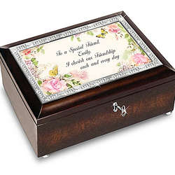 Personalized Music Box for a Friend