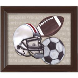 Good Sports Framed Wall Art