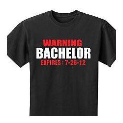 Bachelor Expires T-Shirt