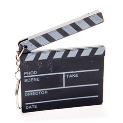 Hollywood Clapboard Keychain