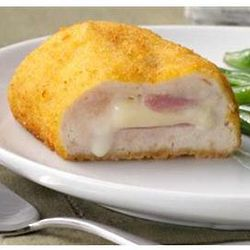 Breaded Chicken Cordon Bleu