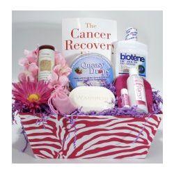 Warrior Cancer Basket for Women