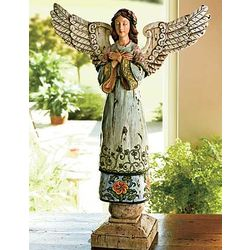 Country Angel Statue