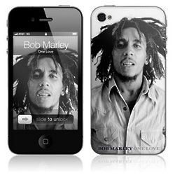 Bob Marley Cell Phone Protective Skin