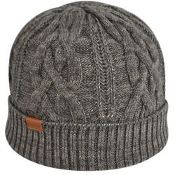 XO Cable Pull-On Knit Hat