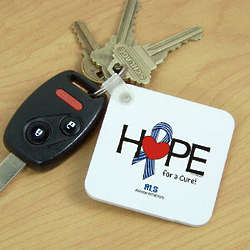 Hope For a Cure ALS Awareness Key Chain