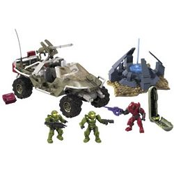 Halo Warthog Resistance Action Figures
