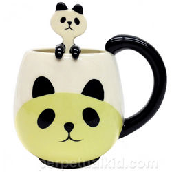 Panda Mug and Spoon Set