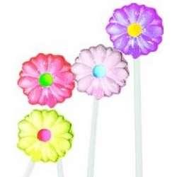 Daisy Flower Twinkle Lollipops