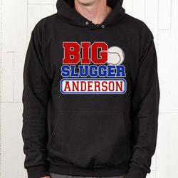 Personalized Big Slugger Baseball Sweatshirt