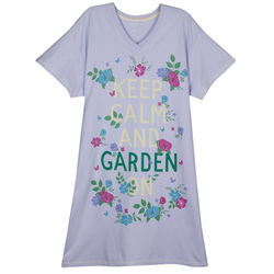 Keep Calm and Garden On Sleepshirt