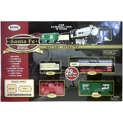 Santa Fe Special 29 Piece Train Set