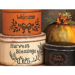 Thanksgiving Stacking Boxes