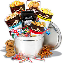 Men's Sweets and Munchies Gift Basket