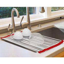 Roll Up Dish Rack