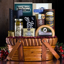 The Right Stuff Snacks and Treats Gift Basket
