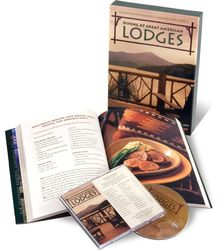 Dining at Great American Lodges Cookbook and Music CD