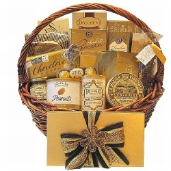The Golden Touch Gift Basket