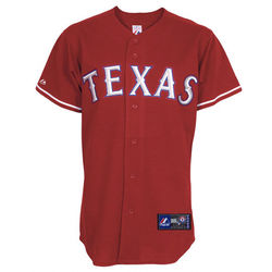Texas Rangers 2010 Alternate Red MLB Replica Jersey
