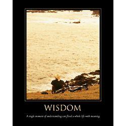 Wisdom Personalized Print