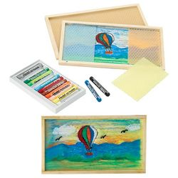 Children's Wax Drawing Art Kit