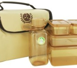 Litter Free Lunch Box with Food Containers