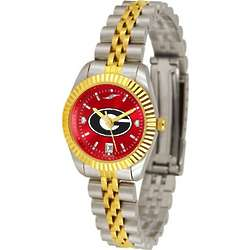 Georgia Bulldogs Executive AnoChrome Ladies Watch