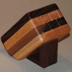 Steak Knife Wooden Block