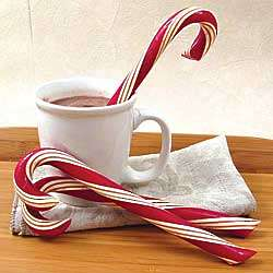 Handmade Candy Canes Mint Set