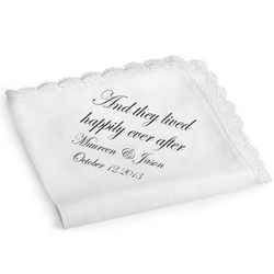 They Lived Happily Ever After Handkerchief