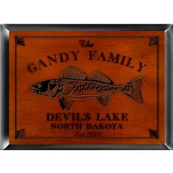Personalized Cabin Series Traditional Sign