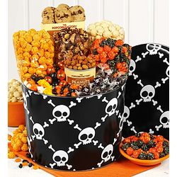 Skulls Snack Assortment 2 Gallon Gift Tin