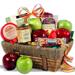 Orchard Fresh Fruits and Gourmet Treats Basket