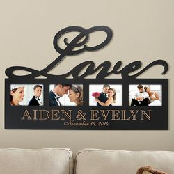 Personalized Love Photo Plaque