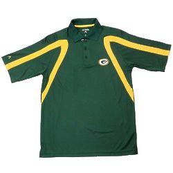 Men's Green Bay Packers Logo Point Polo Shirt